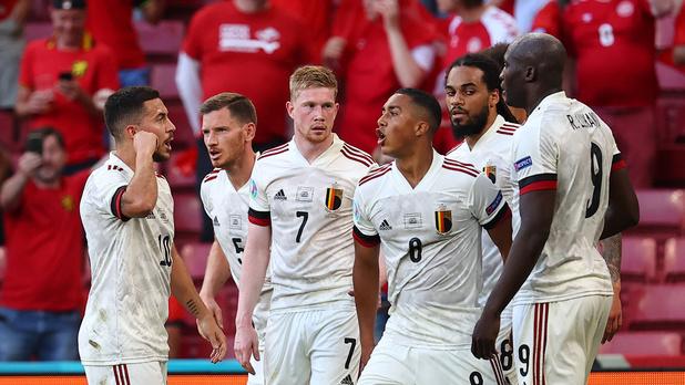 Euro 2020: les Diables rouges l'emportent 2-1 contre le Danemark et se qualifient