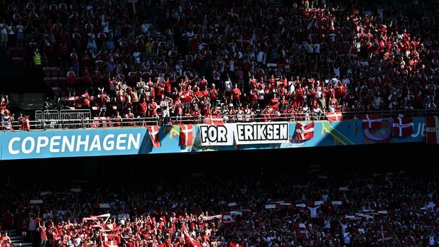 Le Parken rend un vibrant hommage à Christian Eriksen