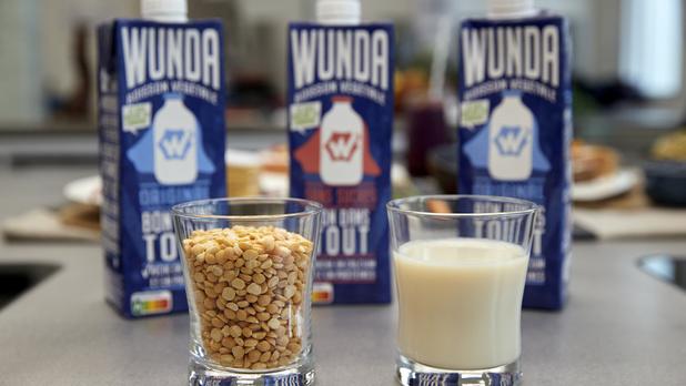 """Wunda, le nouveau """"lait"""" végétal de Nestlé, à base de farine de pois"""