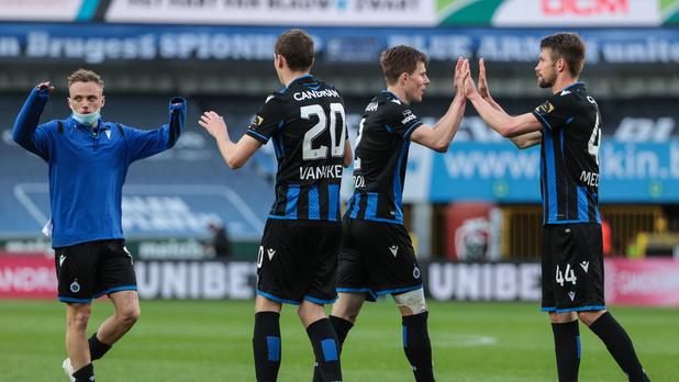 Bruges tient sa première victoire des play-offs et file vers le titre