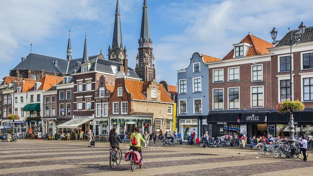 Direction Delft, ville idéale pour les amoureux du vélo