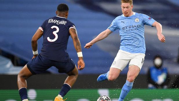 En battant le PSG, Manchester City et De Bruyne s'offrent une première finale de Ligue des Champions