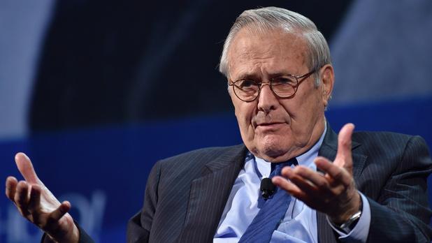 Donald Rumsfeld, chef du Pentagone sous George W. Bush, est décédé