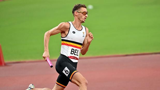 Jonathan Borlée, blessé aux ischio-jambiers, forfait pour la finale du 4x400 m messieurs