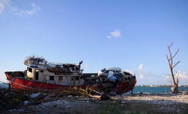 Bahamas: une marée noire, l'autre malédiction de l'ouragan Dorian (en images)