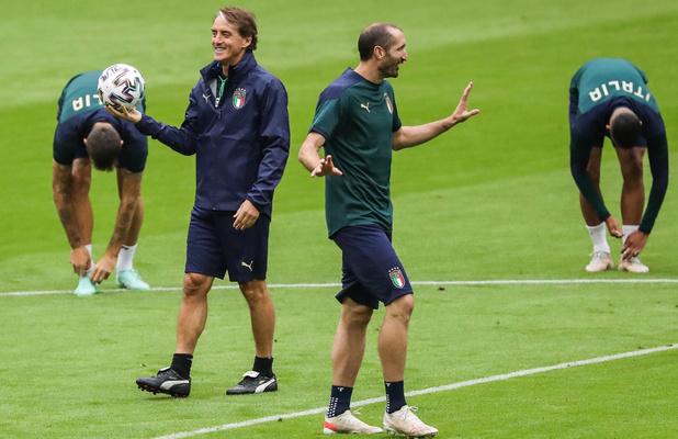 """Euro 2021: L'Italie aura besoin """"d'un peu de folie et de sang-froid"""" en finale"""