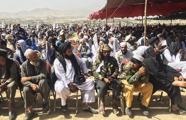 Les talibans organisent un rassemblement de la victoire à Kaboul