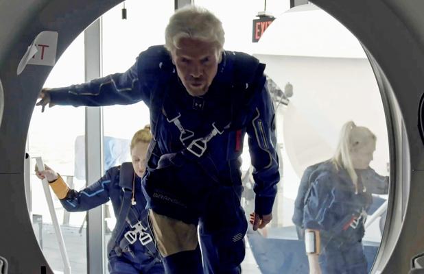 Richard Branson et la guerre économique de l'espace
