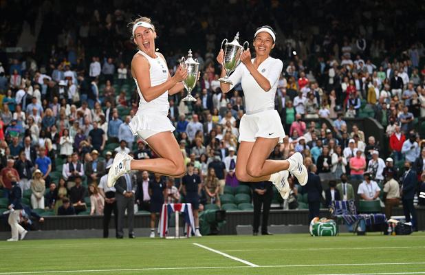 Wimbledon: en double avec Hsieh, Elise Mertens remporte son 3e Grand Chelem après un match fou