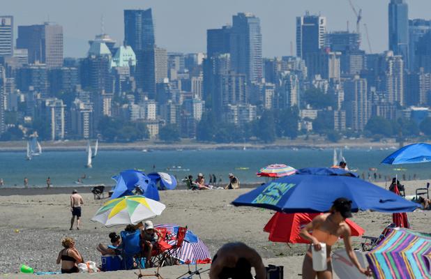 Vague de chaleur historique à l'Ouest du Canada et des Etats-Unis