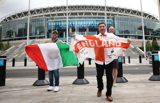 Euro 2021: L'Italie ou l'Angleterre, l'Europe du football prête à sacrer sa reine