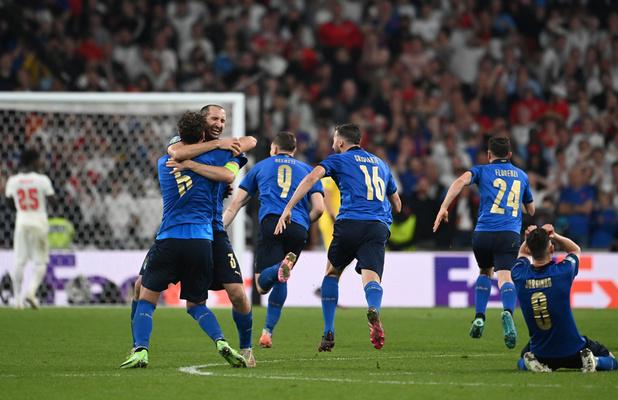 Euro 2021: L'Italie sacrée championne après sa victoire aux tirs au but (3-2) contre l'Angleterre