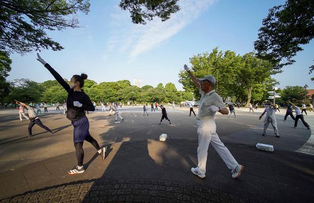 Le radio taiso, la gymnastique douce et rituelle des Japonais