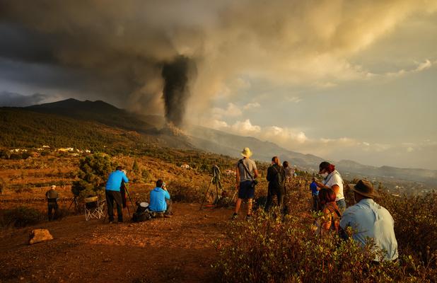 La Palma (Canaries): L'éruption volcanique, triste spectacle pour des habitants désespérés (en images)