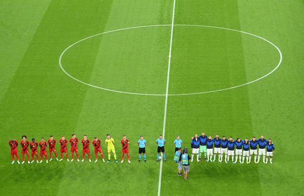 EURO 2021: Le quart de finale entre la Belgique et l'Italie en chiffres