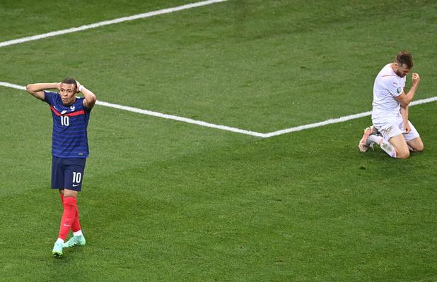 EURO 2021: La France battue aux tirs au but (4-5) par la Suisse après un match spectaculaire