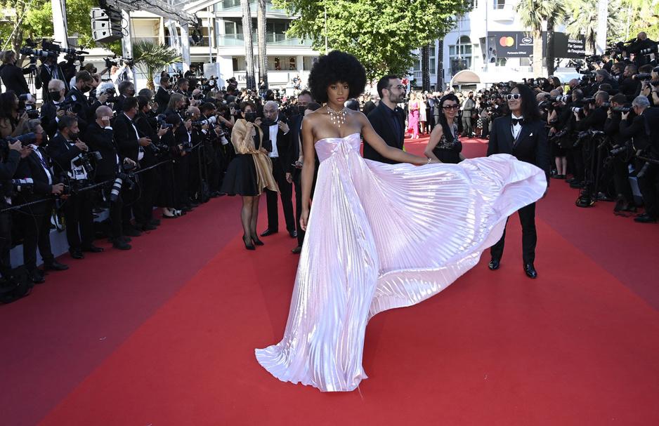 Cannes en images: les marches cannoises au troisième soir du festival