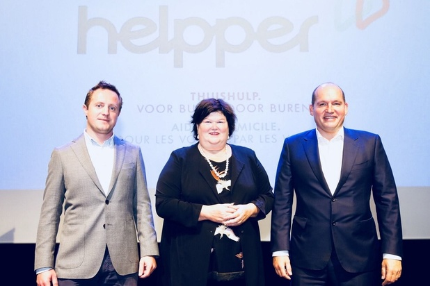 Helpper élue Startup of the Year par startups.be