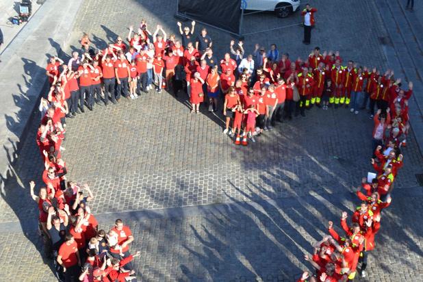 Heldendag in Kuurne viert brandweer en Rode Kruis