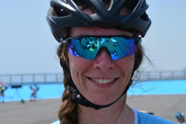 Vierde plaats voor Sandrine Tas in de duizend meter skeeleren in Barcelona
