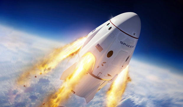 Eerste bemande Amerikaanse ruimtemissie uit VS sinds 2011 gelanceerd