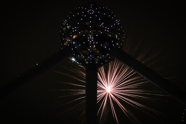Des faisceaux lasers à la place du traditionnel feu d'artifice pour la nuit du Nouvel An à Bruxelles