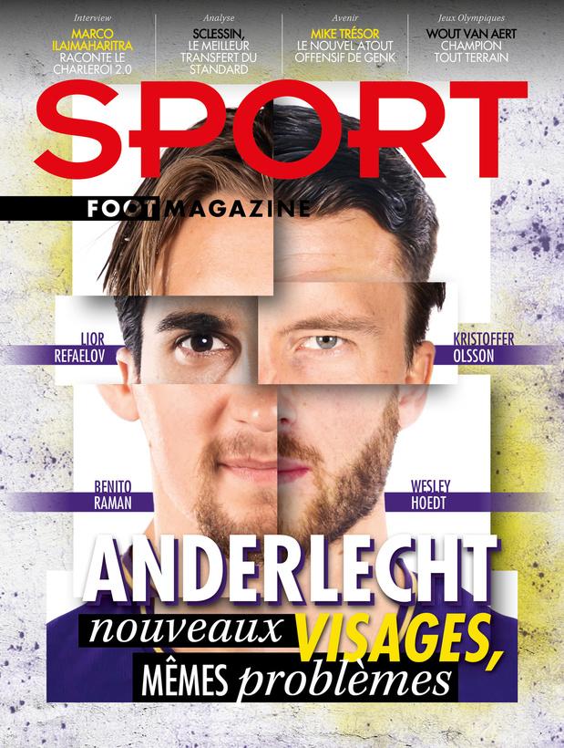 Au menu de Sport/Foot Magazine : Anderlecht en chantier et Sclessin en brasier