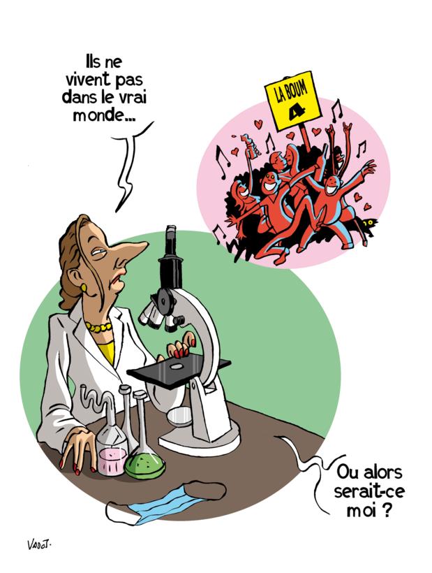 """Le Vadot de la semaine sur la réaction d'Erika Vlieghe face à l'organisation d'un """"apéro contaminant"""""""