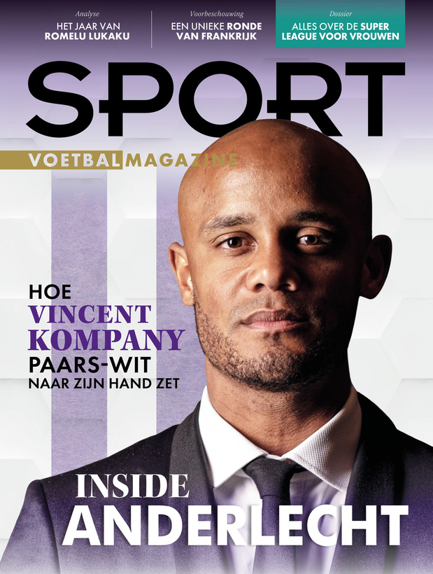 Deze week in Sport/Voetbalmagazine: Coach Kompany, interview met Clinton Mata en aftellen naar de Women's Super League