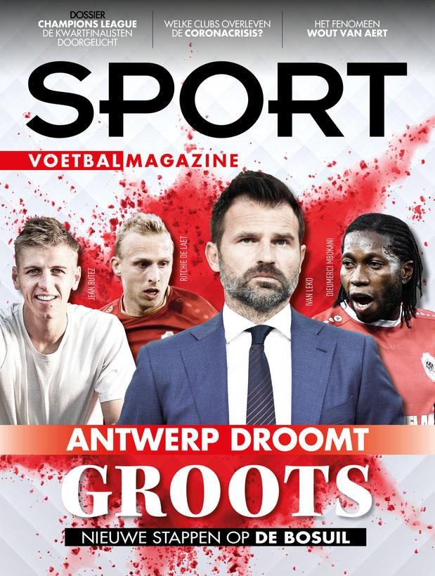 Deze week in Sport/Voetbalmagazine: Jean Butez, Club Brugge en de kwartfinalisten van de Champions League