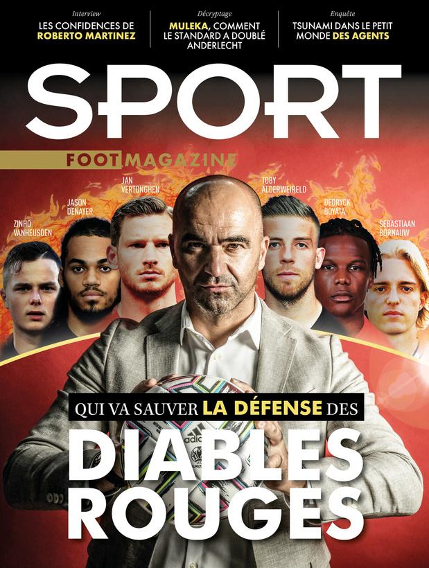 Au menu de Sport/Foot Magazine: Roberto Martinez, Jackson Muleka et Luis Campos