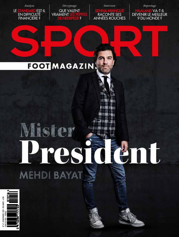 Au menu de Sport/Foot Magazine: patron zébré, billets rouches et pépites mauves