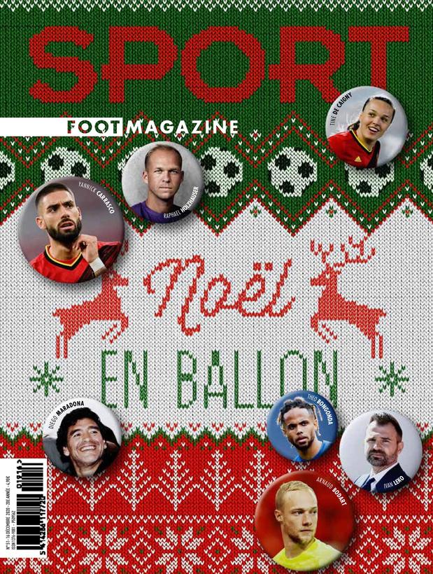 Carrasco, Bongonda, Bodart, nostalgie carolo: toujours au menu de Sport/Foot Mag