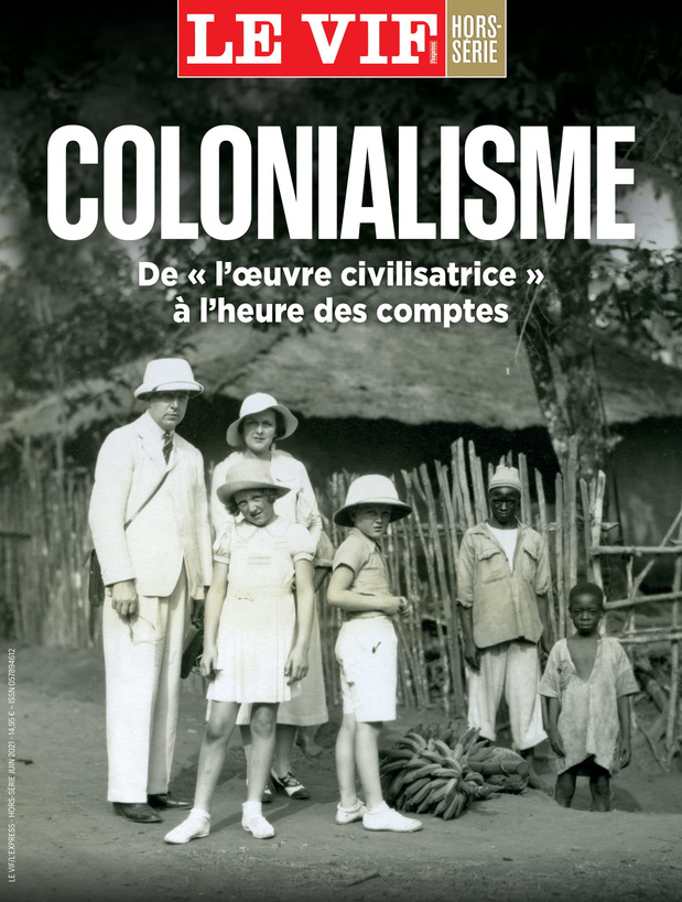 """Colonialisme, de """"l'oeuvre civilisatrice"""" à l'heure des comptes: le nouveau hors-série du Vif"""