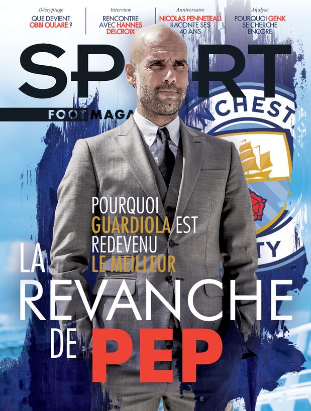 Au menu de Sport/Foot Magazine: la revanche de Pep Guardiola, Obbi Oulare et Hannes Delcroix