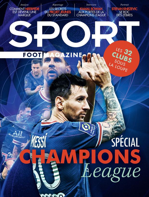 Au menu de Sport/Foot Magazine: Spécial C1 et Clasico belge