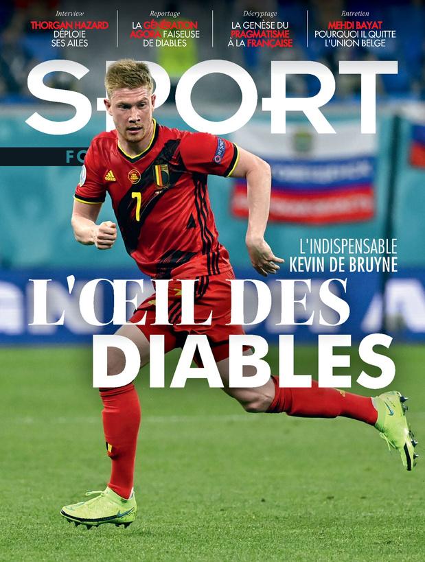 Au menu de Sport/Foot Magazine: l'indispensable De Bruyne & les coulisses du retour d'Eden