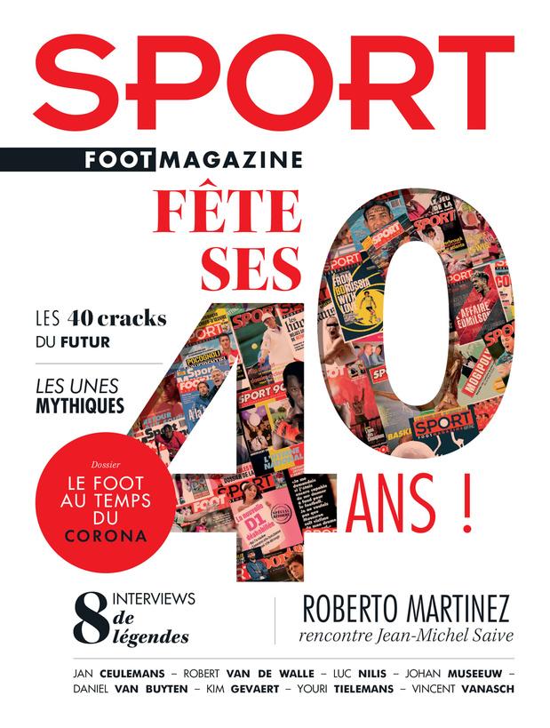 Les 40 ans de Sport/Foot Magazine