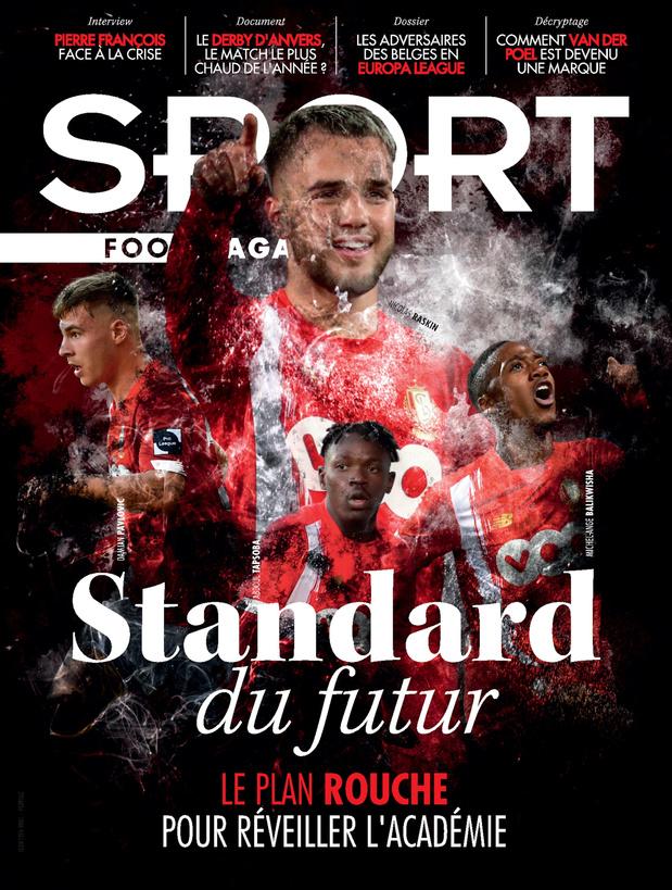 Au menu de Sport/Foot Mag: le renouveau de l'académie du Standard