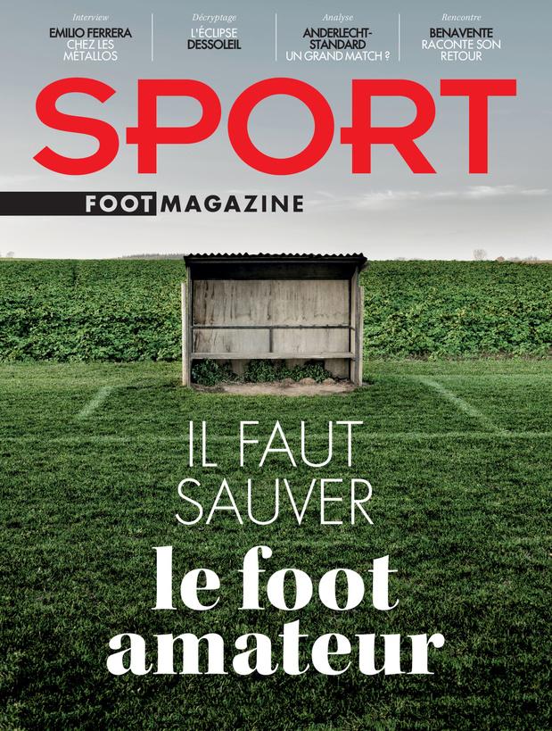 Au menu de Sport/Foot Magazine: foot amateur et Clasico belge