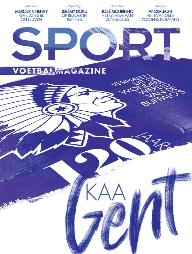 Haal deze week de special '120 jaar KAA Gent' in huis