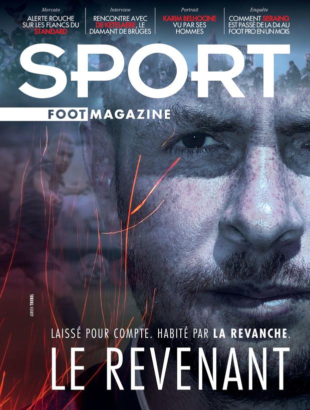 Au menu de Sport/Foot Magazine: Trebel, Belhocine et De Ketelaere