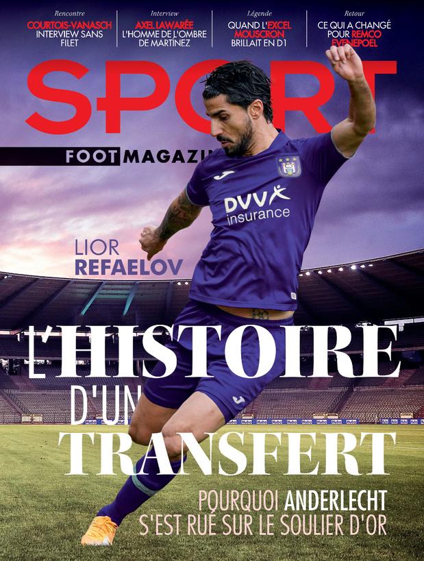Au menu de Sport/Foot Magazine: Lior Refaelov et le duo Courtois-Vanasch
