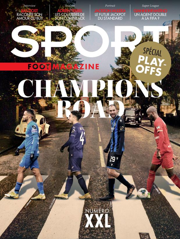 Au menu de Sport/Foot Magazine: numéro spécial play-offs et le double jeu d'Infantino