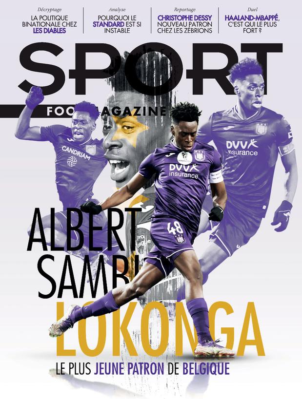 Au menu de Sport/Foot Magazine: les Diables, l'instabilité du Standard et Sambi Lokonga