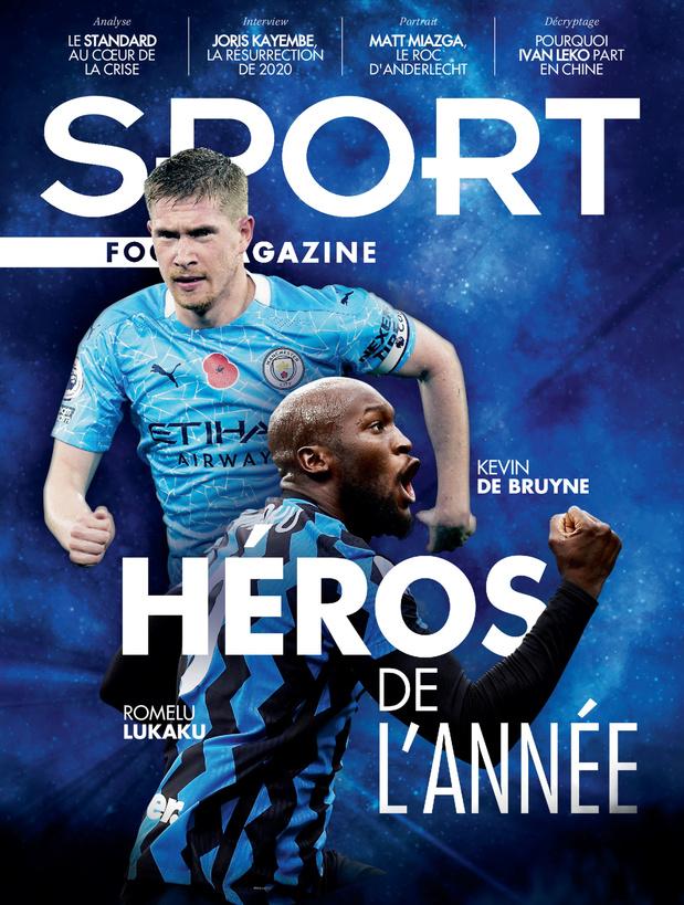 Au menu de Sport/Foot Magazine: Lukaku, De Bruyne, la crise au Standard & Miazga