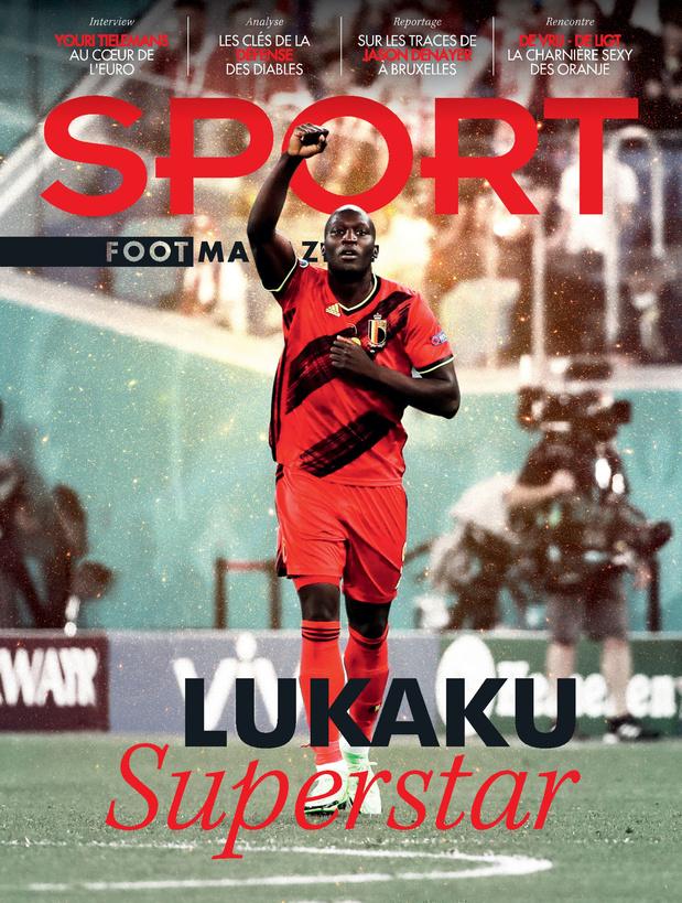 Au menu de Sport/Foot Magazine: Lukaku superstar & entretien avec Youri Tielemans