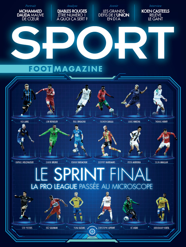 Au menu de Sport/Foot Magazine: la Pro League passée au crible et la place de n°1 des Diables