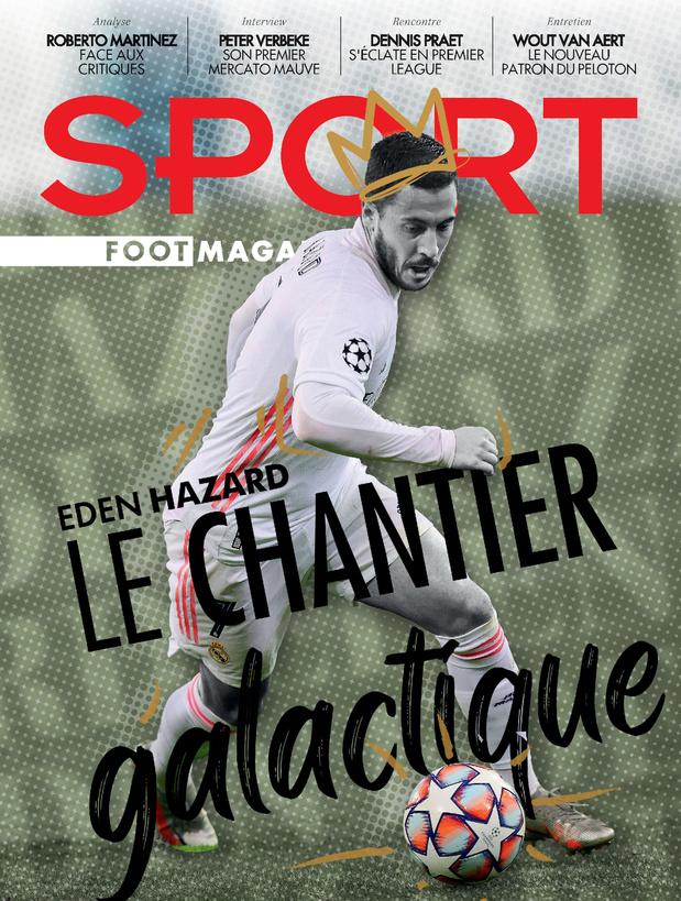 Au menu de Sport/Foot Magazine: Eden Hazard, Dennis Praet et Wout van Aert