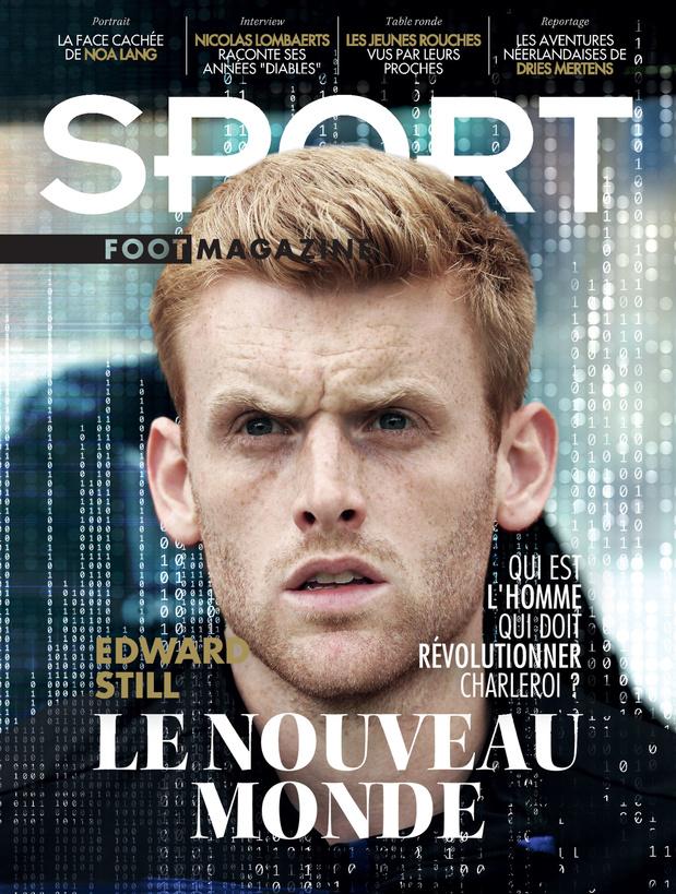 Au menu de Sport/Foot Mag: le nouveau coach de Charleroi sous la loupe et les jeunes du Standard